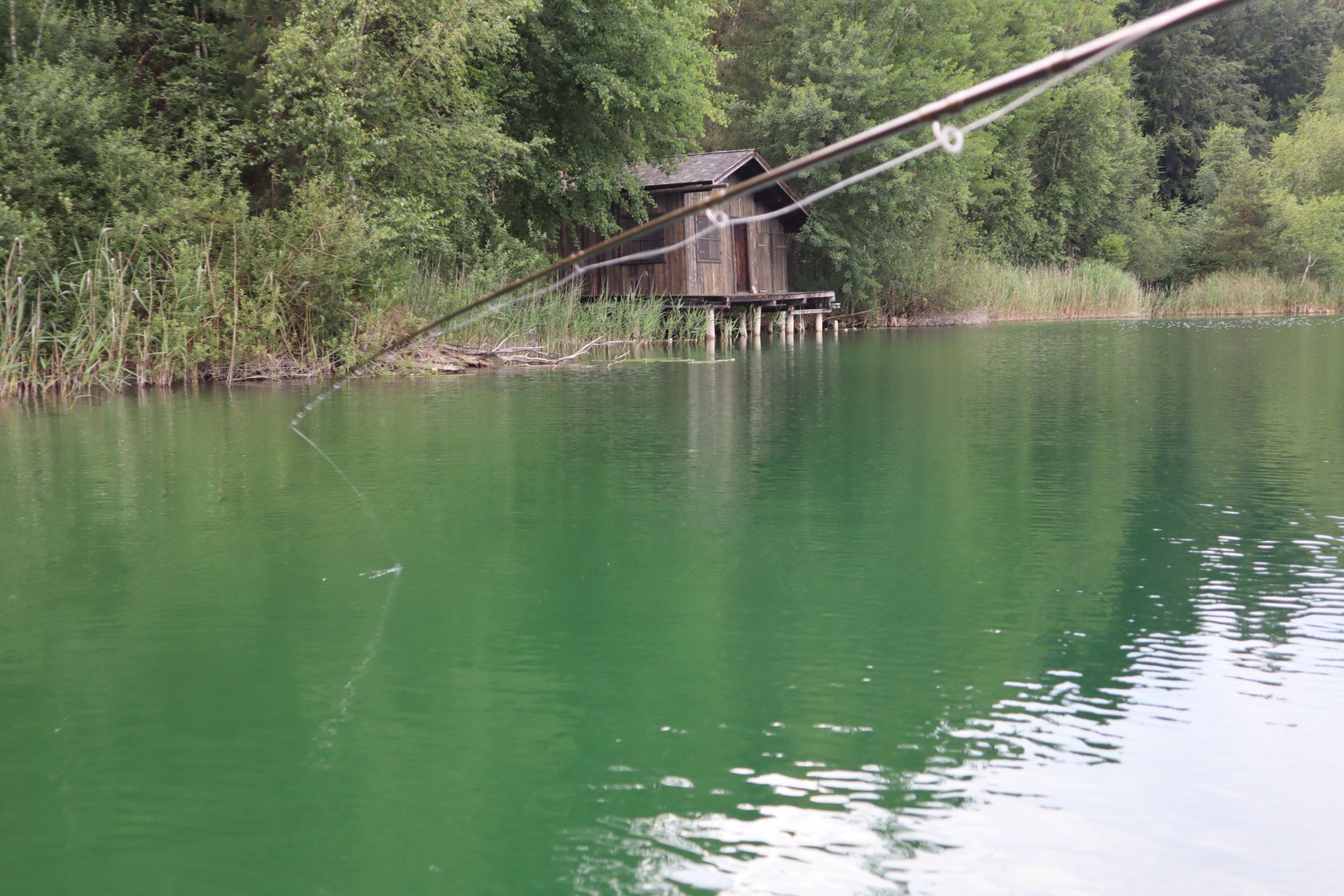Vorbereitungskurs Fischerprüfung in der Brunnsee Hütte