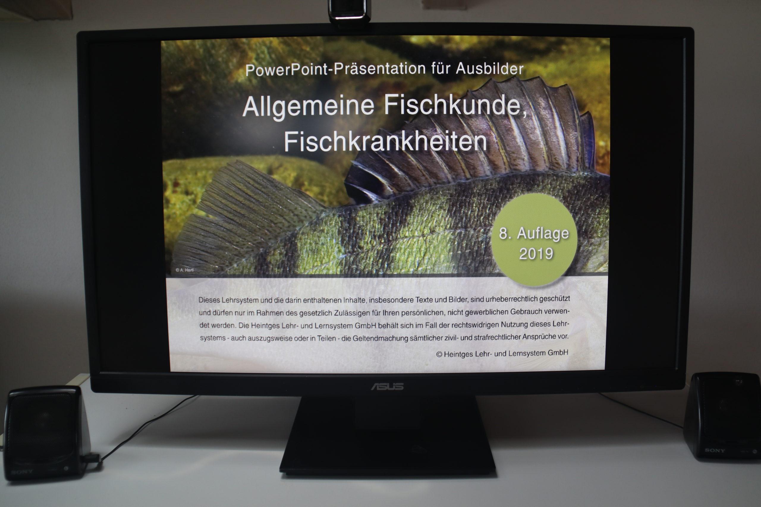 Online-Präsenzkurs Fischerprüfung Bayern